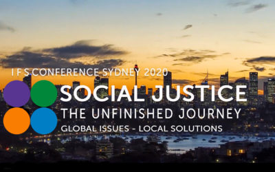 "IFS Conference Sydney 2020 – Social Justice ""The Unfinished Journey""12/08/2020"