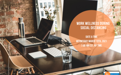 Middle Manager's Work Wellness During Social Distancing – SAVE THE DATE!