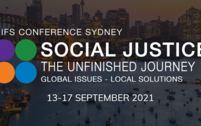 IFS Conference Sydney 2021 – Social Justice – The Unfinished Journey